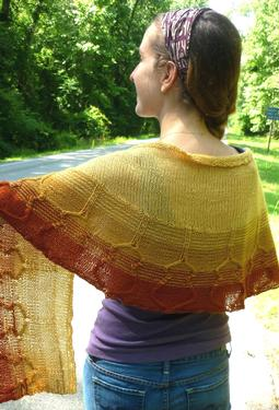 Unplugged Shawl