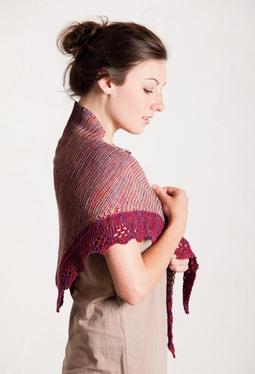 Broderie Anglaise Shawl