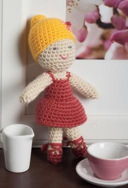 Sleeping Beauty Ballerina: Crochet Amigurumi Doll