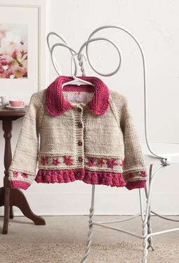 Embroidered Daisy Cardigan