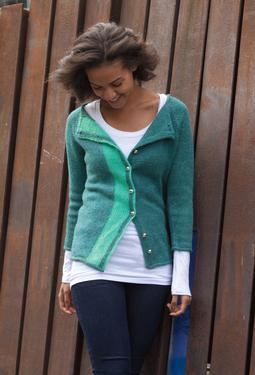 Partition cardigan
