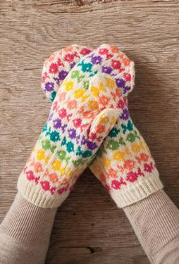 Swedish Fish Mittens