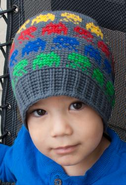 All Ages Alien Invasion Crochet Beanie