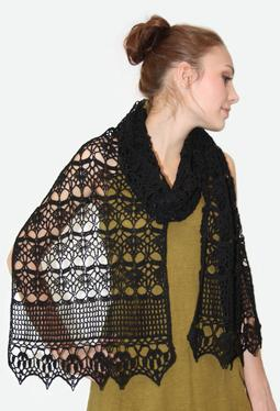 Midnight Crochet Wrap