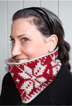 So Much Snow Crochet Cowl - 2 Ways