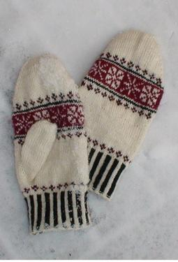 First Frost Mittens