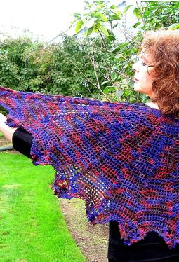 Evil Stepmother Crochet Shawl