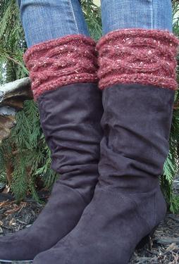 Crochet Dreamz: Brooklyn Boot Cuffs, Free Crochet Pattern