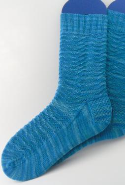 Summer Waves Socks