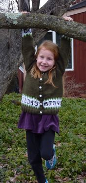 Kid's Cardigan: As Easy as 1,2,3 Pattern