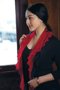 Hyacinth Scarf and Wrap Pattern