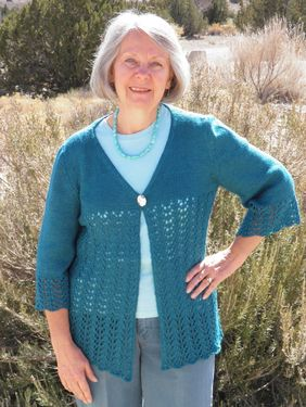 Laurel Lace Cardigan Pattern