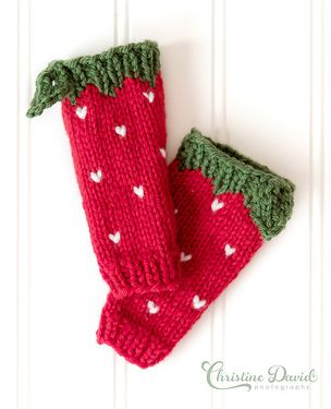 Strawberry Leg Warmers Pattern