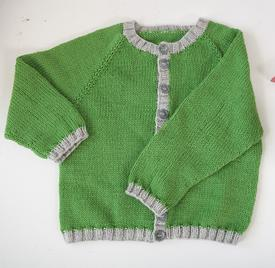 Perfectly Simple Baby Cardi