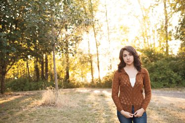 Fir Cone Cardigan Pattern