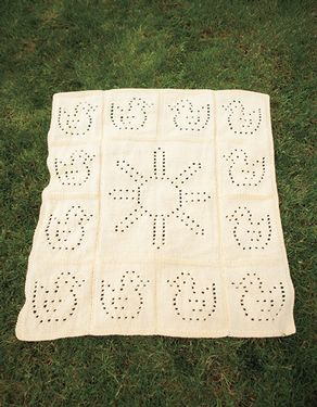 Ducklings in the Sunshine Blanket Pattern
