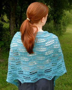 Topsy Turvy Shawl or Scarf Pattern
