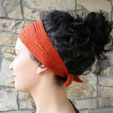 Wrap and Tie Headband Pattern