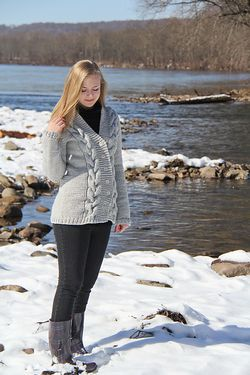 Lithos Cardigan Pattern