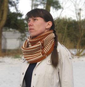 Geometric Illusion Cowl