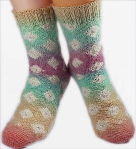 Desiree Diamond Socks
