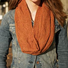 Larch Mountain Textured Chevron Cowl