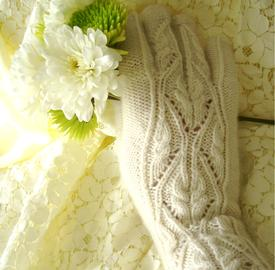 Winter Bride Gloves