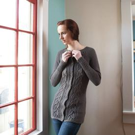 Simply SweaterBabe Top-Down Cardigan