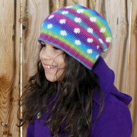 All Ages Bubbly Beanie Crochet Pattern