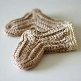 Sew Simple Crochet Baby Socks