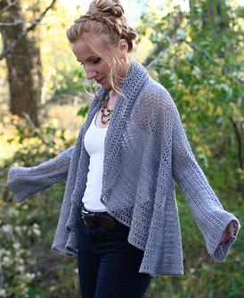 Lace Infinity Cardigan