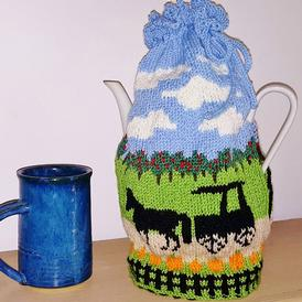 Autumn Splendor Tea Cozy