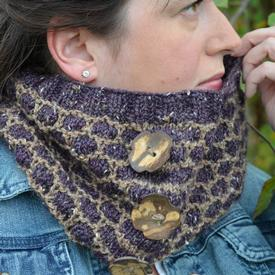 Button Up Honey Cowl