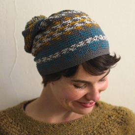 Fair Isle Crochet Hat