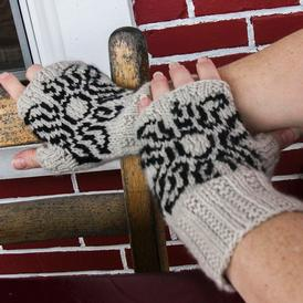 Midnight Suns Fingerless Mitts
