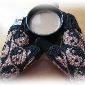 Perfect Balance Fingerless Mitts