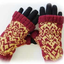 Versailles Fingerless Mitts