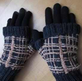 Edge of Night Mitts