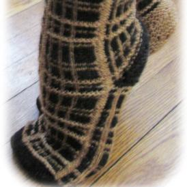 Edge of Night Socks