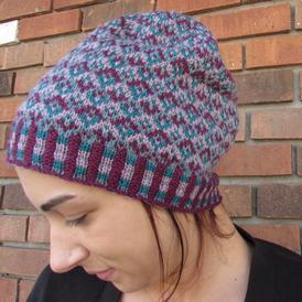 Tessellating Diamonds Slouchy Hat