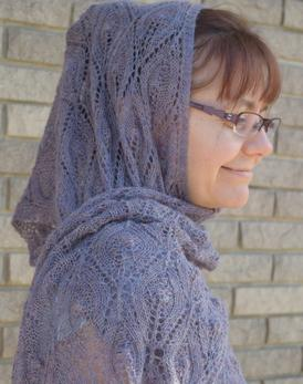 Soft Glow of Candlelight Shawl