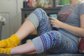 Fair Isle Pants