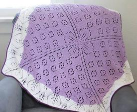 Lace Windflower Blanket