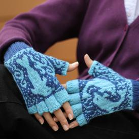 Dancing Dolphin Mitts