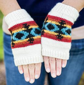 Fall Whispers Mitts Pattern