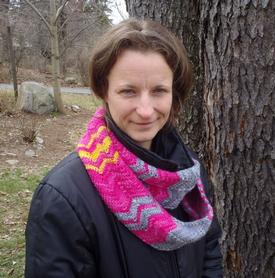 Chevron Infinity Scarf or Cowl Pattern