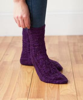 Tail Feathers Socks