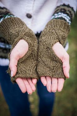Reversible Mirrored Mitts
