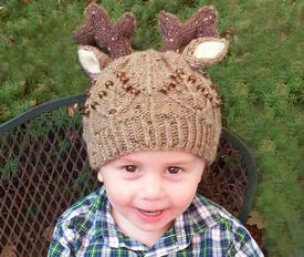 Toddler Deer Hat