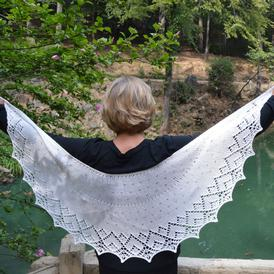 How Do I Love Thee Shawl